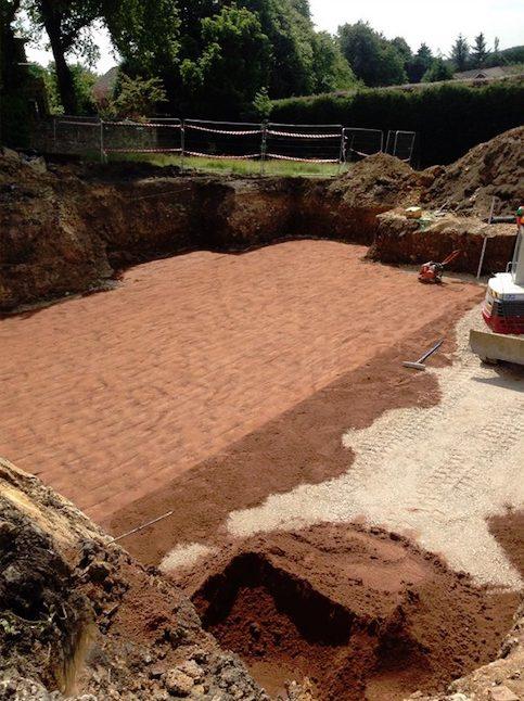 excavation and groundwork