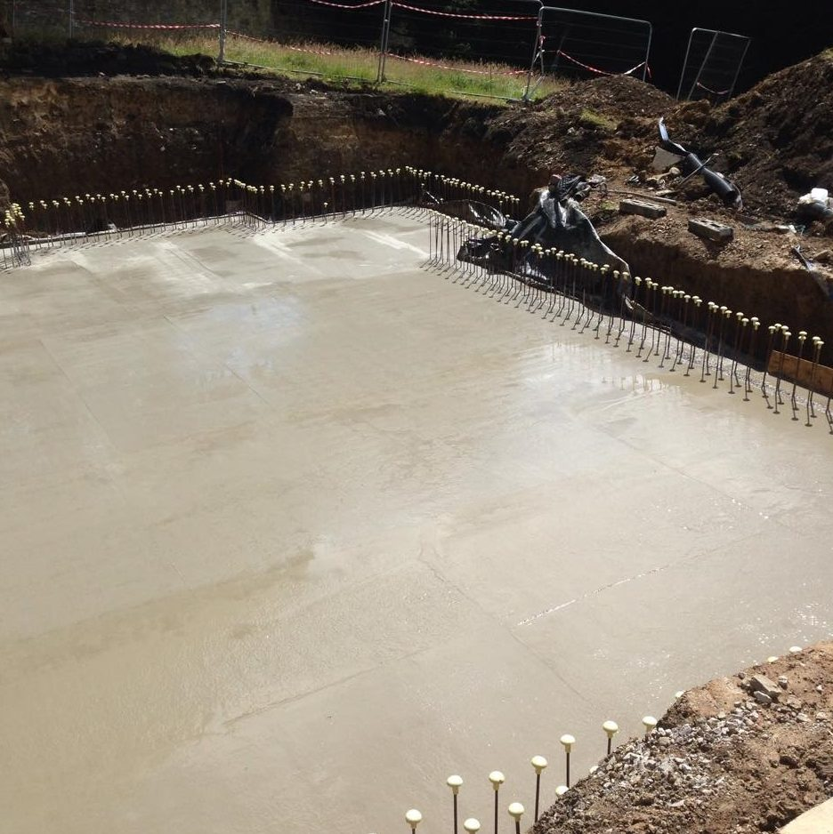 reinforced concrete foundations