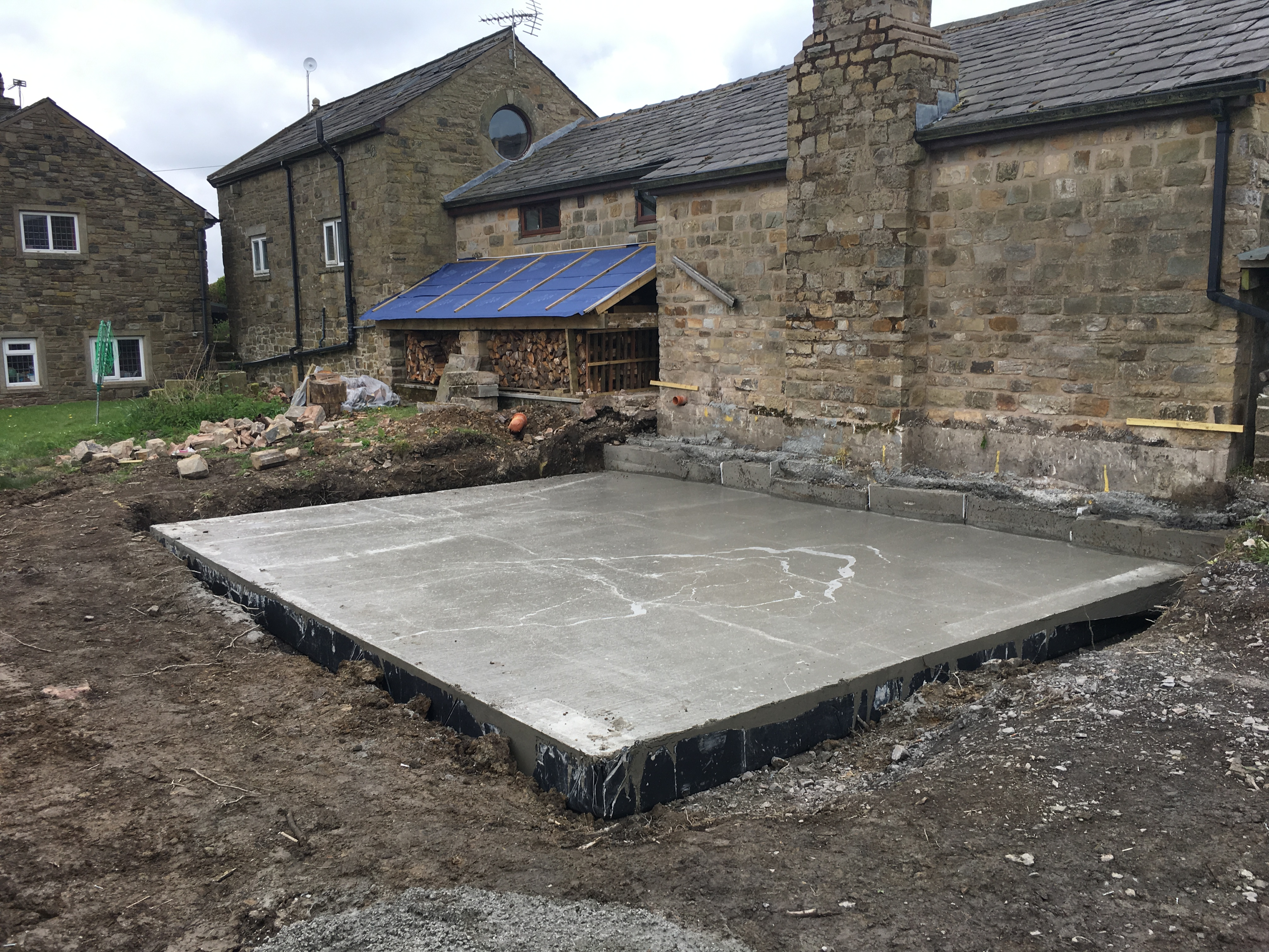 Reinforced Concrete Foundations in cheshire